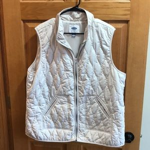 Old navy light weight vest size xxl